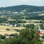 Mszanka widok z góry Kozica